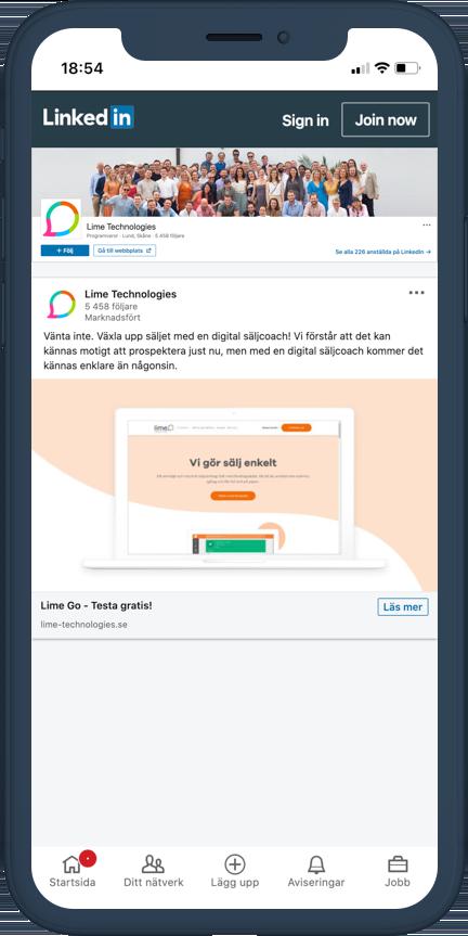 Digital Marknadsföring LinkedIn Inspiration